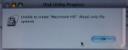 10.5.0 Disk Utility Error