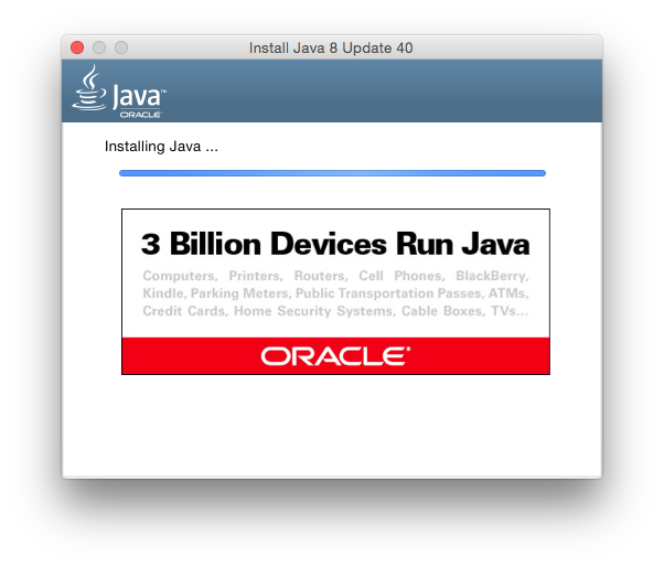 Java8 Installing