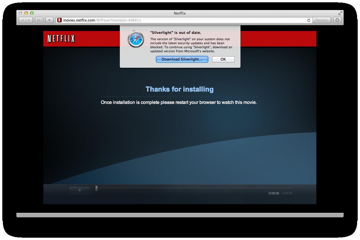 Blocked @ Netflix