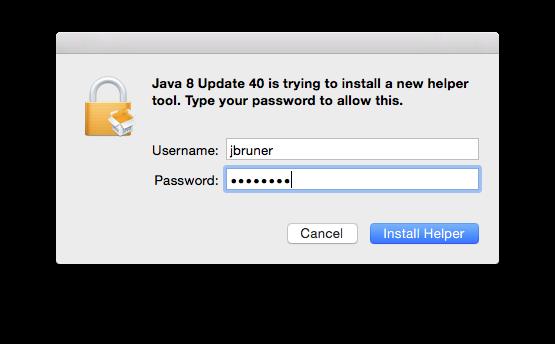 Java8 Auth