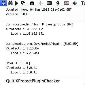 XProtectPluginChecker Menu 2